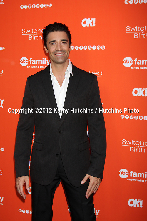 "LOS ANGELES - SEP 13:  Gilles Marini arrives at the """"Switched at Birth"" Fall Premiere & Book Launch Party at The Redbury Hotel on September 13, 2012 in Los Angeles, CA"