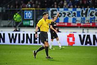 VOETBAL: HEERENVEEN: Abe Lenstra Stadion, SC Heerenveen - Vitesse, 21-01-2012, Eindstand 1-1, scheidsrechter Tom van Sichem, ©foto Martin de Jong
