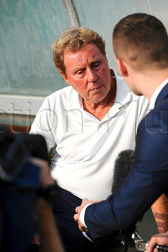07.09.2014.  Poole, England. Charity match in aid of MND sufferer Andrew Culliford. Harry Redknapp.