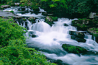 Waterfall on the Nantahala River<br />