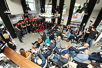 SCHAATSEN: HEERENVEEN: 21-10-2016, Perspresentatie Team Clafis, ©foto Martin de Jong