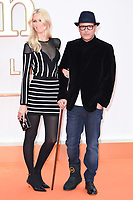 director, Matthew Vaughn and wife, Claudia Schiffer<br /> arriving for the &quot;Kingsman: The Golden Circle&quot; World premiere at the Odeon and Cineworld Leicester Square, London<br /> <br /> <br /> &copy;Ash Knotek  D3309  18/09/2017