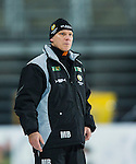 Stockholm 2014-01-10 Bandy Elitserien Hammarby IF - Sandvikens AIK :  <br />  Hammarbys tr&auml;nare Magnus Brod&eacute;n <br /> (Foto: Kenta J&ouml;nsson) Nyckelord:  portr&auml;tt portrait