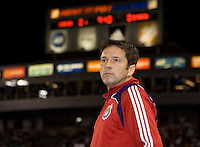 Chivas head coach Preki. The Houston Dynamo and Chivas USA played to a 1-1 tie at Home Depot Center stadium in Carson, California on Saturday October 25, 2008. Photo by Michael Janosz/isiphotos.com