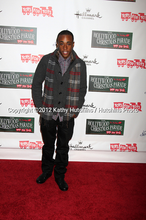 LOS ANGELES - NOV 25:  Khylin Rhambo arrives at the 2012 Hollywood Christmas Parade at Hollywood & Highland on November 25, 2012 in Los Angeles, CA