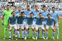 Lazio team photo line up <br /> Roma 19-10-2019 Stadio Olimpico <br /> Football Serie A 2019/2020 <br /> SS Lazio - Atalanta<br /> Foto Andrea Staccioli / Insidefoto