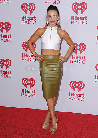 LAS VEGAS, NV - SEPTEMBER 19:  Karina Smirnoff at the 2014 iHeartRadio Music Festival at the MGM Grand Garden Arena on September 19, 2014 in Las Vegas, Nevada. PGSK/MediaPunch