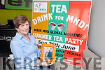 Ina Ferris from Churchill, who lost her brother PJ O'Mahony to Motor Neuron Disease last year, is planning a Tea Day on June 26th to raise funds for research into the disease.