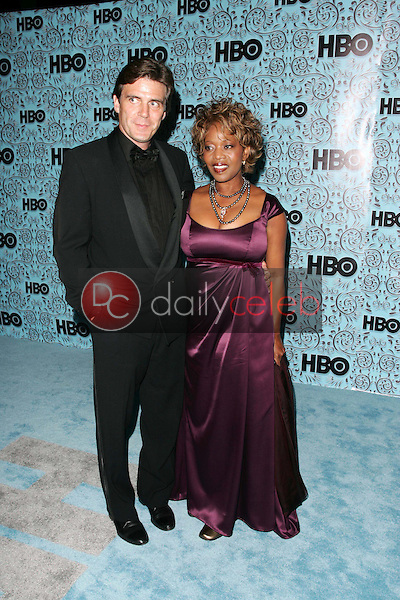 Roderick Spencer and Alfre Woodard<br />At the HBO Emmy After Party. Pacific Design Center,Los Angeles, CA. 09-18-05<br />Dave Edwards/DailyCeleb.Com 818-249-4998