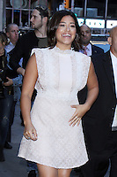 NEW YORK, NY-September 25: Gina Rodriguez at Good Morning America to talk about her new movie Deepwater Horizon in New York. September 25, 2016. Credit:RW/MediaPunch