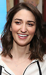 Sara Bareilles attends a photo call for cast change for the hit musical 'Waitress' on Broadway at Sardi's on January 4, 2019 in New York City.