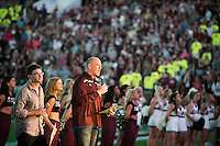 Cowbell Yell pep rally - Guinness World Record for most people ringing cowbells simultaneously<br />  (photo by Megan Bean / &copy; Mississippi State University)