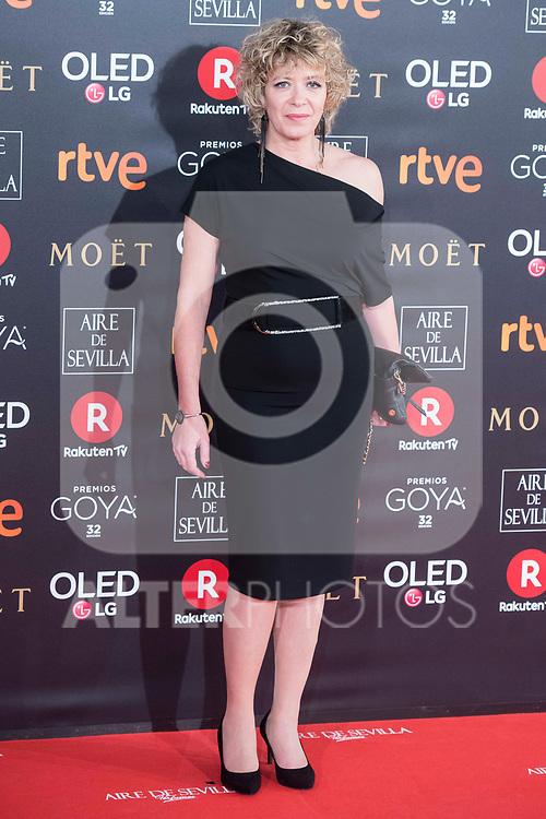 Ana Barrachina attends red carpet of Goya Cinema Awards 2018 at Madrid Marriott Auditorium in Madrid , Spain. February 03, 2018. (ALTERPHOTOS/Borja B.Hojas)