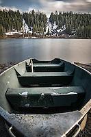 Row Boat at Twin Lakes California