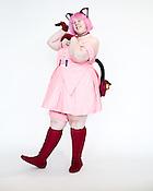 Kera Hicks, of Durham, N.C., dressed as Ichigo Momomiya of Tokyo MewMew