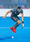BHUBANESWAR (INDIA) - Glenn Schuurman (Ned)  tijdens Nederland-Canada bij het WK Hockey heren. COPYRIGHT KOEN SUYK