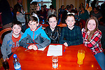 Answer now<br /> ----------------<br /> Milltown/Listry quiz team including sub L-r Cathal Daly,Cillian Burke,Amanda Flynn,Milly Mason&amp;Janella Lynch.