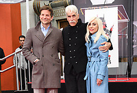 07 January 2019 - Hollywood, California - Bradley Cooper, Sam Elliott, Lady Gaga  . Sam Elliott Hand And Footprint Ceremony held at TCL Chinese Theatre. Photo Credit: Birdie Thompson/AdMedia