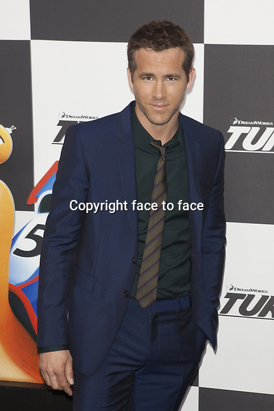 NEW YORK, NY - JULY 9: Ryan Reynolds attends the 'Turbo' premiere at AMC Loews Lincoln Square on July 9, 2013 in New York City.<br /> Credit: MediaPunch/face to face<br /> - Germany, Austria, Switzerland, Eastern Europe, Australia, UK, USA, Taiwan, Singapore, China, Malaysia, Thailand, Sweden, Estonia, Latvia and Lithuania rights only -