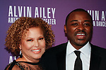 """Debra L. Lee - CEO of BET and Robert Battle - Artistic Director of Alvin Ailey American Dance Theater, arrive at the Alvin Ailey American Dance Theater """"Modern American Songbook"""" opening night gala benefit at the New York City Center on November 29, 2017."""