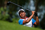 SHENZHEN, CHINA - OCTOBER 31:  Mhark Fernando of Philippines tees off on the 6th hole during the day three of Asian Amateur Championship at the Mission Hills Golf Club on October 31, 2009 in Shenzhen, Guangdong, China.  (Photo by Victor Fraile/The Power of Sport Images) *** Local Caption *** Mhark Fernando