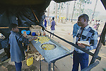 Boy Selling French Fries At Blantyre Bus Station