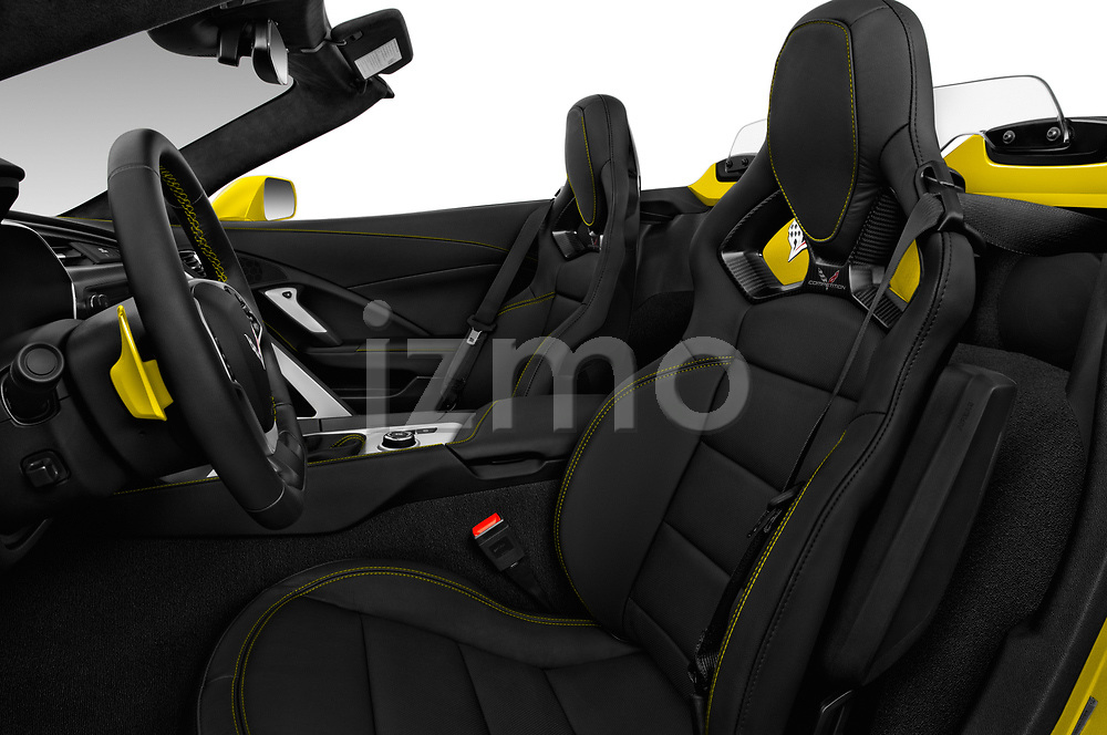 Front seat view of 2017 Chevrolet Corvette Grand-Sport-3LT 2 Door Convertible Front Seat  car photos
