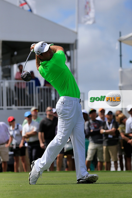 Gary Woodland (USA) during the 1st round at the WGC Cadillac Championship, Blue Monster, Trump National Doral, Doral, Florida, USA<br /> Picture: Fran Caffrey / Golffile