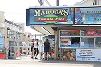 SEASIDE HEIGHTS, NJ - MAY 15: View of Seaside Heights Boardwalk after Governor Murphy gives the ok for some beaches to reopen since the coronavirus pandemic began. Seaside Heights, New Jersey on May 15, 2020. <br /> CAP/MPI/PHL/JB<br /> ©JB/PHL/MPI/Capital Pictures