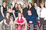 21ST BIRTHDAY: Lisa Culhane of Ballymac celebrated her 21ST birthday with family and friends at Gally's restaurant and bar on Saturday night last seated l:r Mary, Lisa and John Culhane Back l:r  Michelle Bradley, Evelyn Culhane, Liz Mason,  Triona Brassin, Caroline Cleary, Mandy Ross, Sophia Lai and Rita O'Leary..   Copyright Kerry's Eye 2008