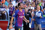 53e Trofeu Joan Gamper.<br /> Presentation 1st team FC Barcelona.<br /> Sergio Busquets.