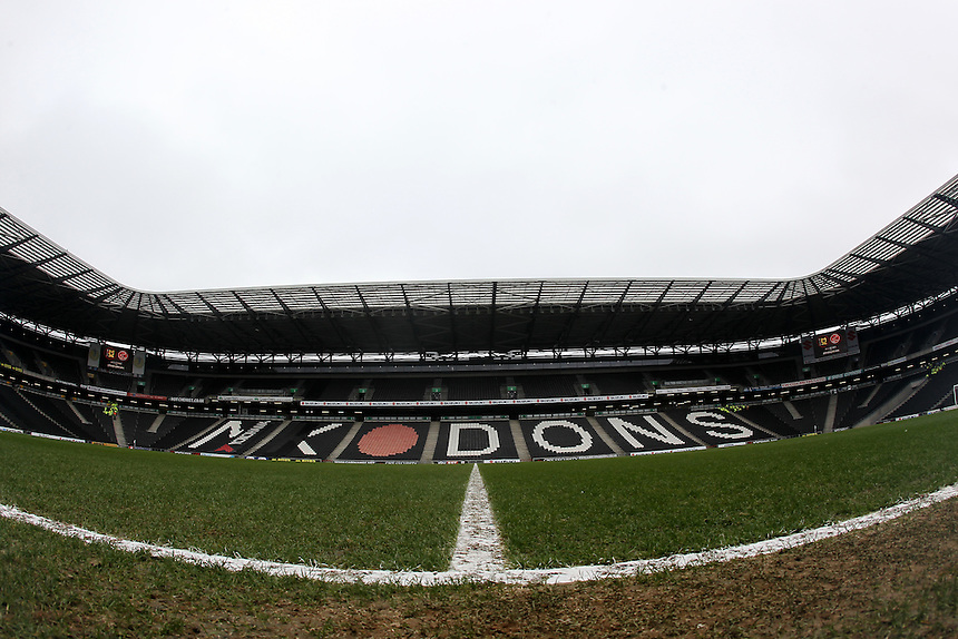 A general view of Stadium MK the home of Milton Keynes Dons<br /> <br /> Photographer /Mick Walker CameraSport<br /> <br /> The EFL Sky Bet League One - Milton Keynes Dons v Fleetwood Town - Saturday 18th February 2017 - Stadium:mk - Milton Keynes<br /> <br /> World Copyright &copy; 2017 CameraSport. All rights reserved. 43 Linden Ave. Countesthorpe. Leicester. England. LE8 5PG - Tel: +44 (0) 116 277 4147 - admin@camerasport.com - www.camerasport.com