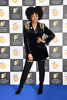 LONDON, UK. March 19, 2019: Rachel Adedeji arriving for the Royal Television Society Awards 2019 at the Grosvenor House Hotel, London.<br /> Picture: Steve Vas/Featureflash