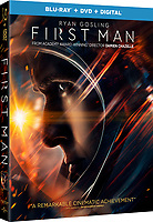 BLU-RAY $ DVD COVER ART<br /> First Man (2018) <br /> *Filmstill - Editorial Use Only*<br /> CAP/RFS<br /> Image supplied by Capital Pictures