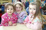 Caoilfhionn, Hannah and Jessica at the Pyjama Day in Mornington Pre-School in aid of the Haiti earthquake victims...Photo NEWSFILE/Jenny Matthews.(Photo credit should read Jenny Matthews/NEWSFILE)....This Picture has been sent you under the condtions enclosed by:.Newsfile Ltd..The Studio,.Millmount Abbey,.Drogheda,.Co Meath..Ireland..Tel: +353(0)41-9871240.Fax: +353(0)41-9871260.GSM: +353(0)86-2500958.email: pictures@newsfile.ie.www.newsfile.ie.FTP: 193.120.102.198.