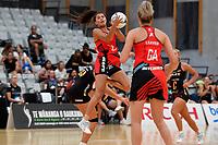Tactix' Kimiora Poi in action during the Preseason Tournament - Tactix v Magic at Ngā  Purapura, Otaki, New Zealand on Saturday 9 February  2019. <br /> Photo by Masanori Udagawa. <br /> www.photowellington.photoshelter.com