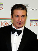 Alec Baldwin arrives for the formal Artist's Dinner honoring the recipients of the 2012 Kennedy Center Honors hosted by United States Secretary of State Hillary Rodham Clinton at the U.S. Department of State in Washington, D.C. on Saturday, December 1, 2012. The 2012 honorees are Buddy Guy, actor Dustin Hoffman, late-night host David Letterman, dancer Natalia Makarova, and the British rock band Led Zeppelin (Robert Plant, Jimmy Page, and John Paul Jones)..Credit: Ron Sachs / CNP