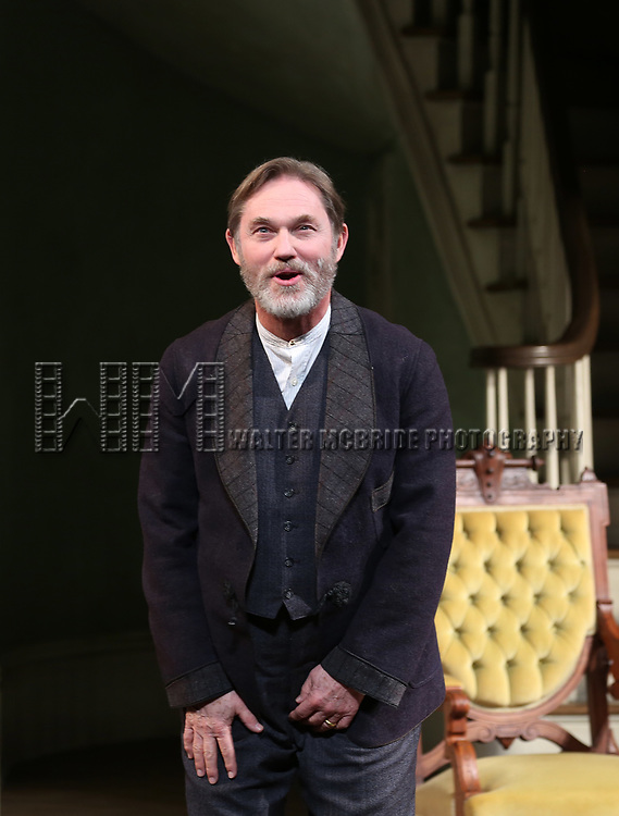 Richard Thomas during the Broadway Opening Night Curtain Call bows for 'The Little Foxes' at Samuel J. Friedman Theatre on April 19, 2017 in New York City.