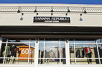 A Banana Republic store is pictured at Lee Premium Outlets in Lee (MA), Tuesday October 1, 2013.