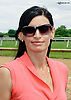 Aldana Gonzalez at Delaware Park racetrack on 6/5/14