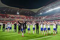 Lisbona 05-12-2017 Stadio de la Luz Football Champions League 2017/2018 Benfica - FC Basel / Benfica - Basilea  <br /> Basels Spieler Esultanza <br /> Foto Andy Mueller/freshfocus/Insidefoto