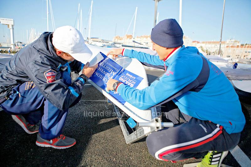ISAF Sailing World Cup Hyères - Fédération Française de Voile.