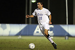 10 November 2010: Duke's Andrew Wenger. The Duke University Blue Devils played the Boston College Eagles at Koka Booth Stadium at WakeMed Soccer Park in Cary, North Carolina in an ACC Men's Soccer Tournament Quarterfinal game.