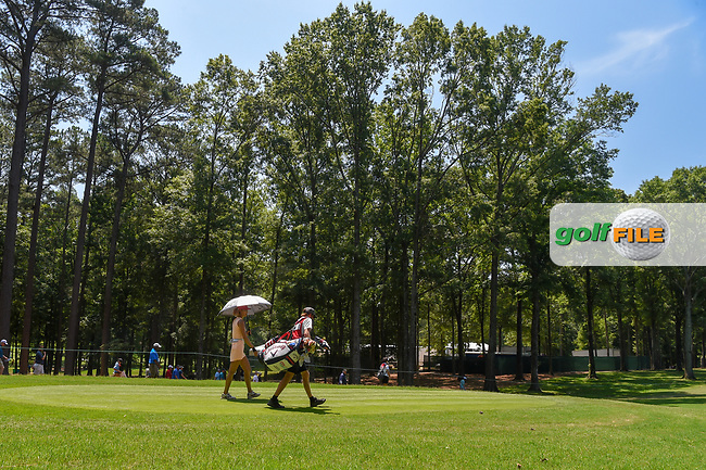 Michelle Wie (USA) heads down 3 during round 4 of the U.S. Women's Open Championship, Shoal Creek Country Club, at Birmingham, Alabama, USA. 6/3/2018.<br /> Picture: Golffile | Ken Murray<br /> <br /> All photo usage must carry mandatory copyright credit (© Golffile | Ken Murray)