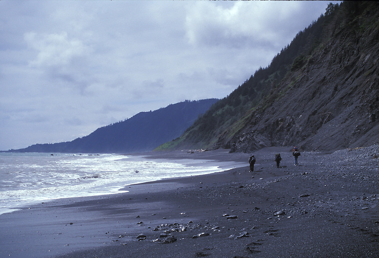 Backpacking on the Lost Coast, Humboldt County, California