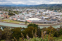 Gisborne, New Zealand.  First town in the world to greet each day's new sunrise.
