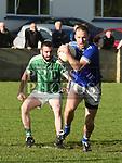 Naomh Mairtin Padraig McDonagh Geraldines Tiernan Hand. Photo:Colin Bell/pressphotos.ie