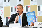 Lars Haue-Pedersen,  AUGUST 7, 2015 :  World Bowling (WB)  holds a media conference following its interview  with the Tokyo 2020 Organising Committee in Tokyo Japan.  (Photo by YUTAKA/AFLO SPORT)