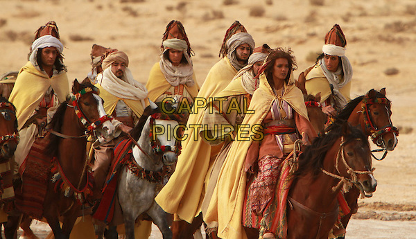LIYA KEBEDE (2ND FROM RIGHT).in Day of the Falcon (2011).*Filmstill - Editorial Use Only*.CAP/FB.Supplied by Capital Pictures.
