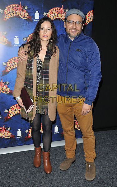 Elaine Cassidy &amp; Stephen Lord attend the &quot;La Soiree&quot; VIP press night, La Soiree Spiegeltent, Southbank Centre, Belvedere Road, London, England, UK, on Friday 06 November 2015. <br /> CAP/CAN<br /> &copy;Can Nguyen/Capital Pictures